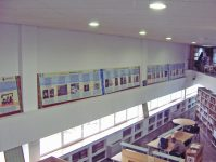 Mural impreso en cartón pluma.